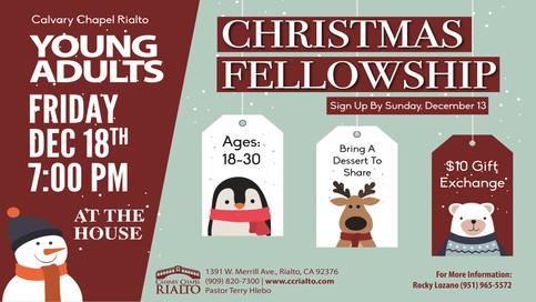 Young Adults Christmas Fellowship