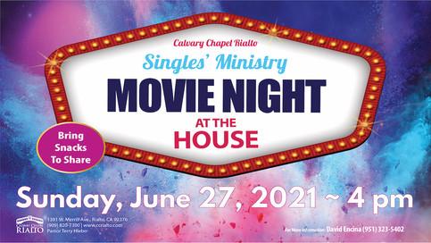 Singles' Ministry Movie Matinee