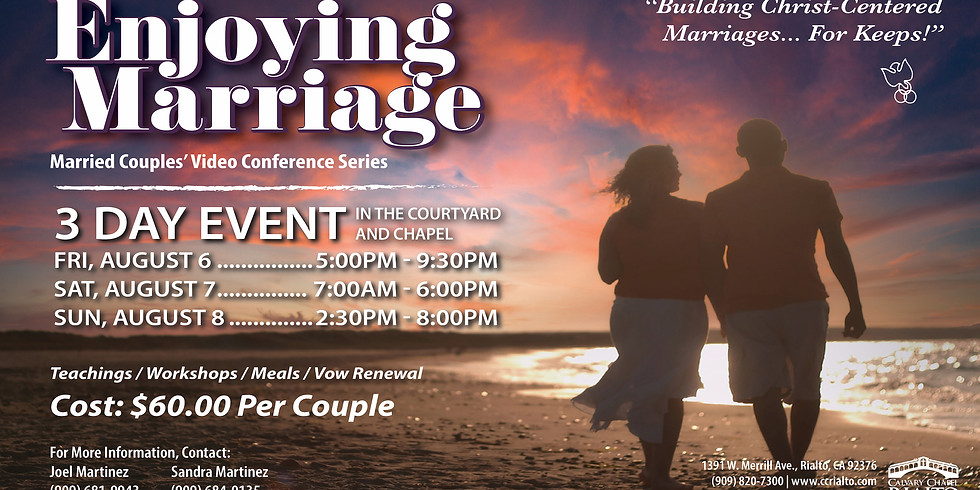 Enjoying Marriage Married Couples' Video Conference
