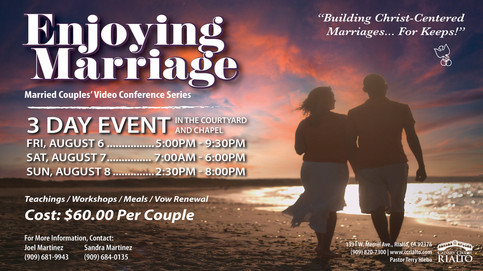 Enjoying Marriage Video Weekend Conference