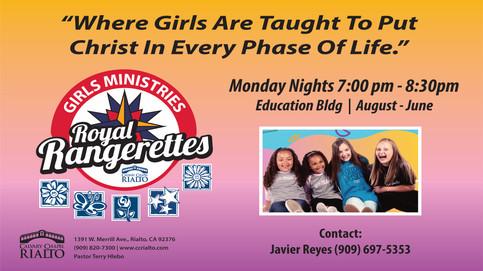 Sign ups for Rangerettes!