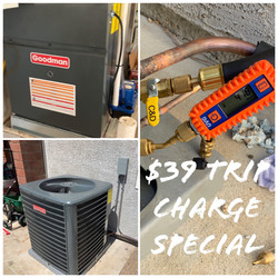 $39 Trip Charge Special