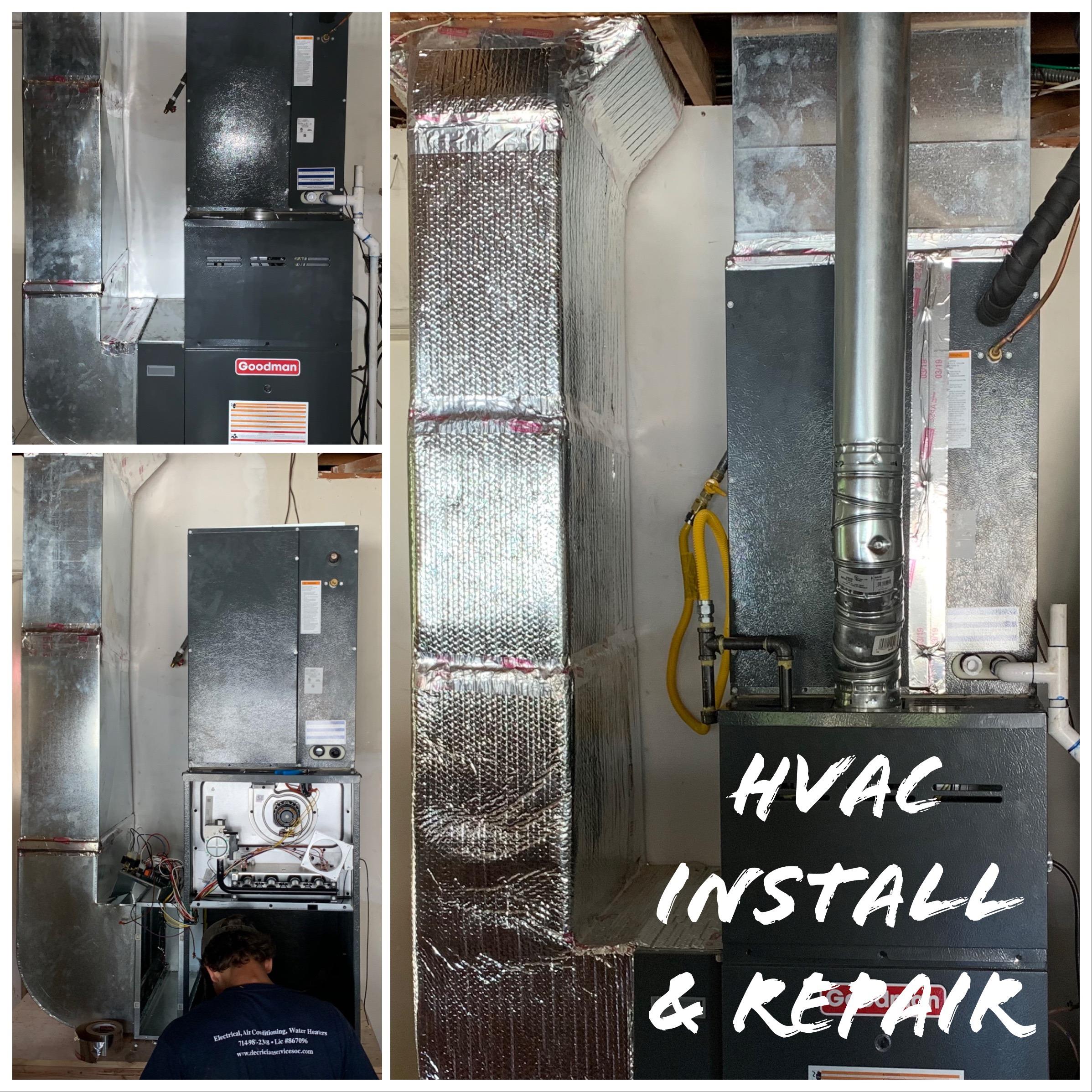 HVAC Install And Repair