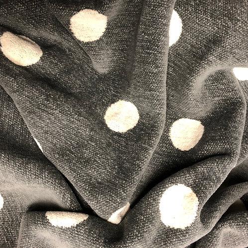 Decke Klippan Grau