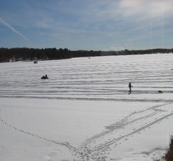 Snowmobiling and Ice Fishing
