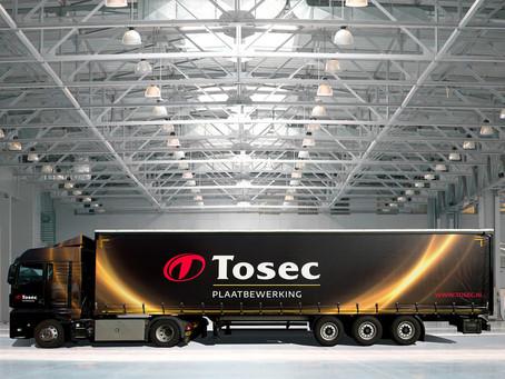 Twee vrachtwagens voor Tosec Plaatbewerking in Zwolle