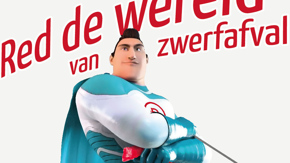 Truck met oplegger van Tosec Plaatbewerking Zwolle