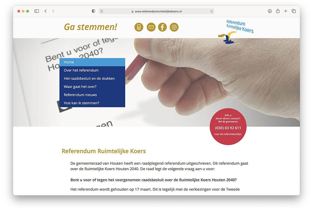 Referendum website