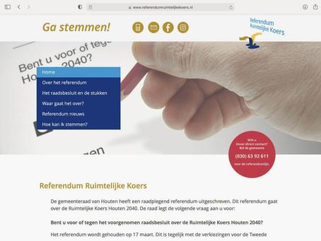 Referendum Ruimtelijke Koers in Houten
