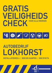 Autobedrijf Lokhorst - flyer