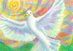 Peace Dove Rising