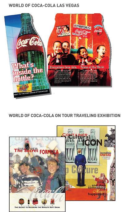 World of Coca-Cola Exhibit Brochure and