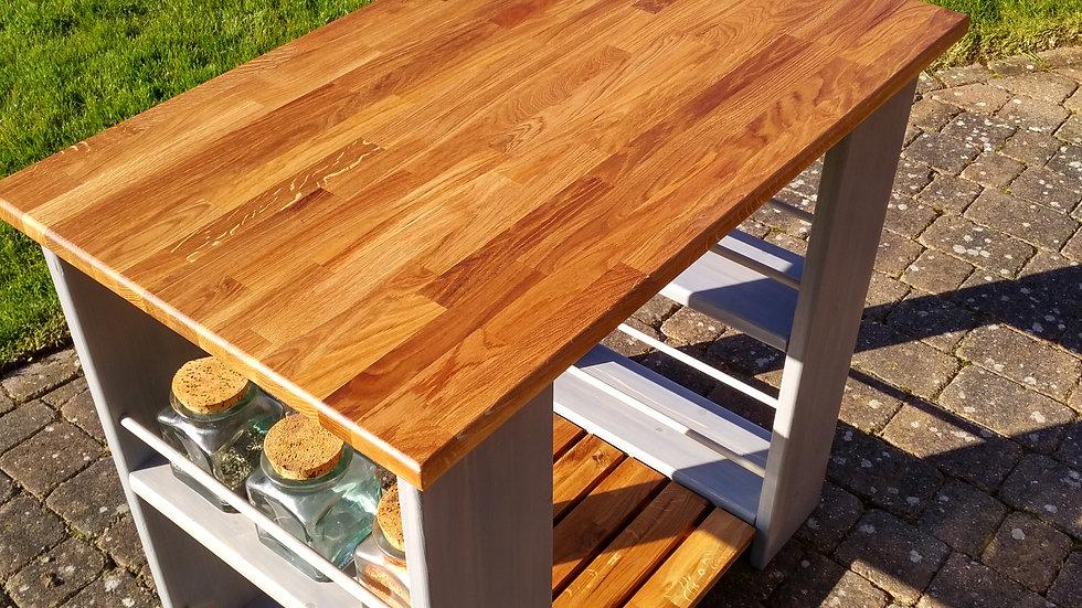 Kitchen island unit - Oak butcher block