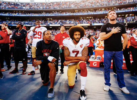 So I can't kneel during the Anthem?