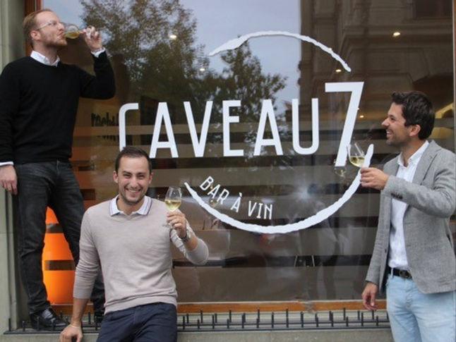 Caveau 7 Bern Nicolas Stämpfli, Sandro Bürgi, Thierry Fuhrer