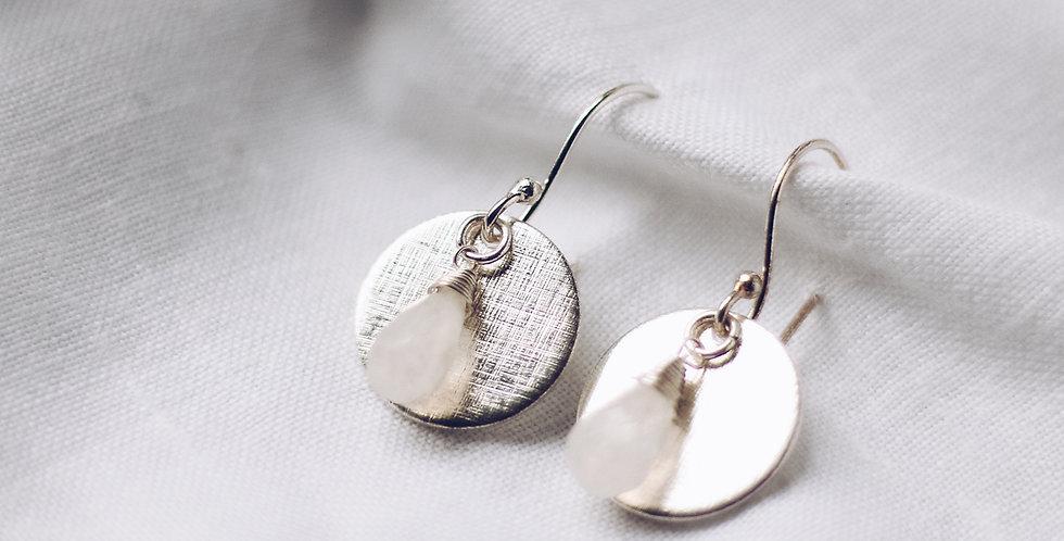 Newfound Moonstone Earrings