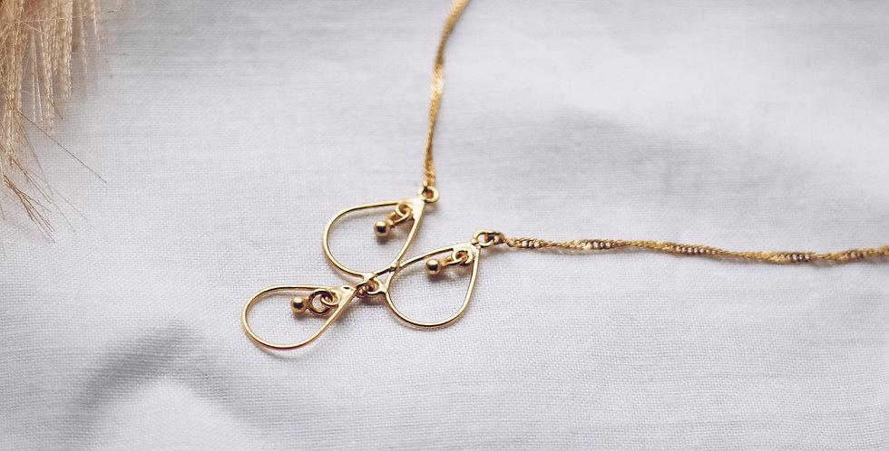 Newfound Three Drops Necklace