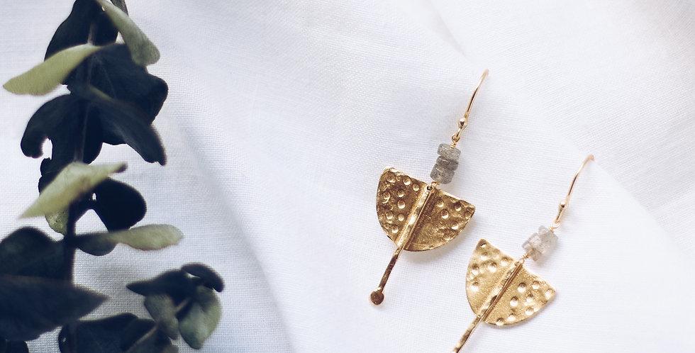 Spirited Strength Labrodite Earrings