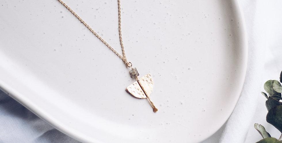 Spirited Strength Labrodite Necklace