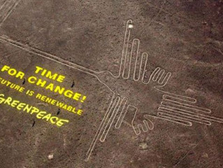Watch Your Step Greenpeace!