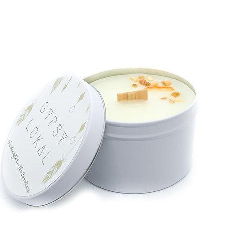 sweet citrus - 8 oz beeswax tin
