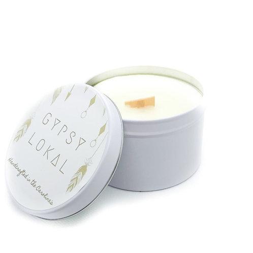 natural honey - 8 oz. beeswax tin