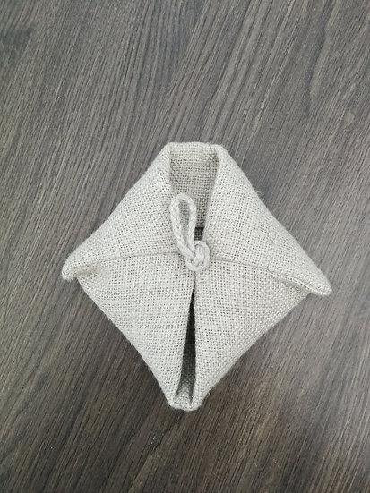 Waschhandschuh aus LEINEN
