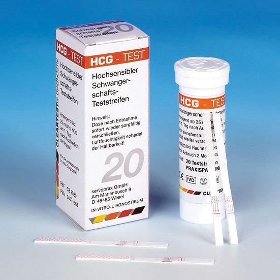 HCG Schwangerschaft Teststreifen (Streifen)