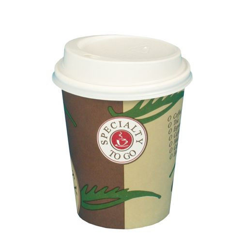 Kaffee 2go Becher 200ml aus Pappe (ohne Deckel)