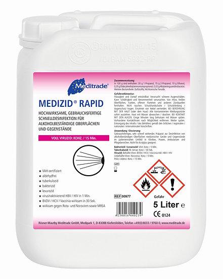 Medizid Rapid - Flächendesinfektion gebrauchsfertig