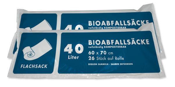 40-50Lt. Biosack ( 2 Ro. á 26 Stk. )
