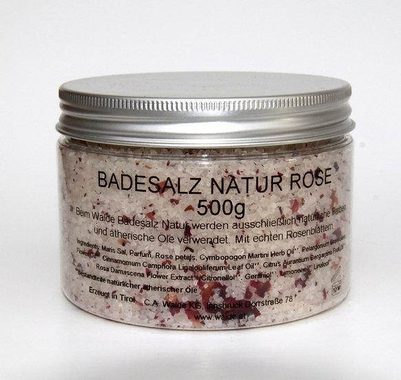 Badesalz Natur Rose, Lavendel, Kräuter