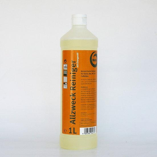 Allzweckreiniger mit Orangenöl 1L oder 10L Gebinde
