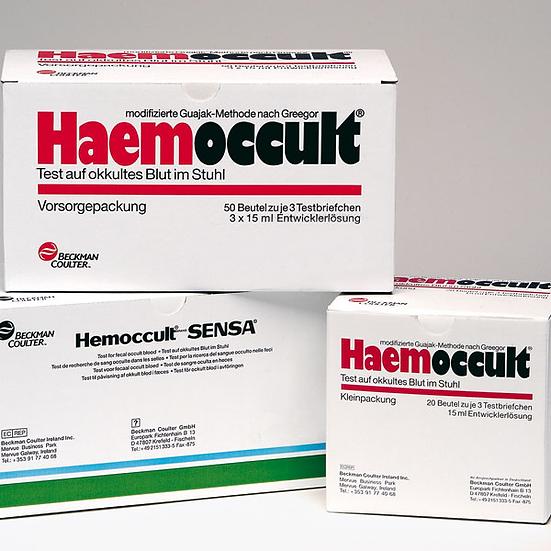 Haemoccult Stuhltest - alternativ HEMOCARE Stuhltest