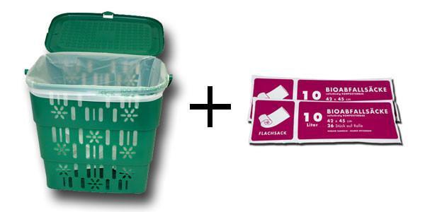 Kombi-Angebot (Bio Eimer + 2 Ro. 10Lt. )