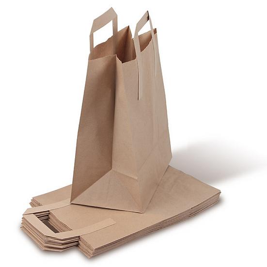 Bio-Müllbeutel mit Standboden u. Henkel (10 l) 4 x 10 Stück