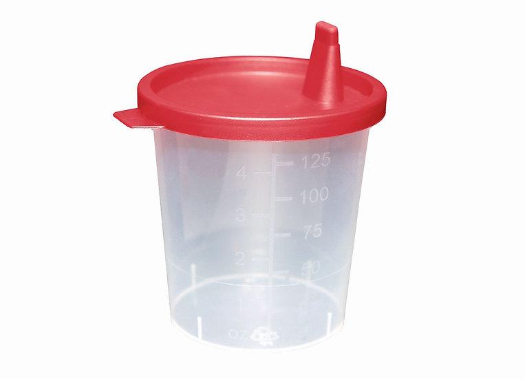 Urin Probenbecher inkl. Deckel ( Schnapp - oder Schraubdeckel)
