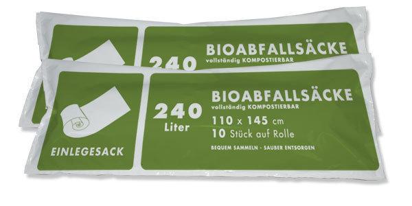 240 Lt. Biosack ( 2 Ro. á 10 Stk. )