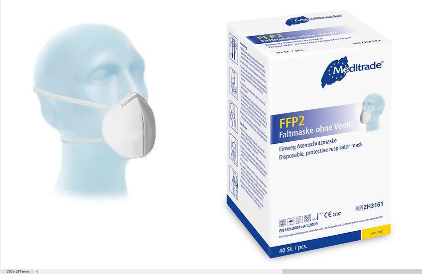 FFP2 Atemschutz - Maske - Kopfschlaufe