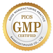 มาตรฐานการผลิตที่ดี ได้รับ GMP