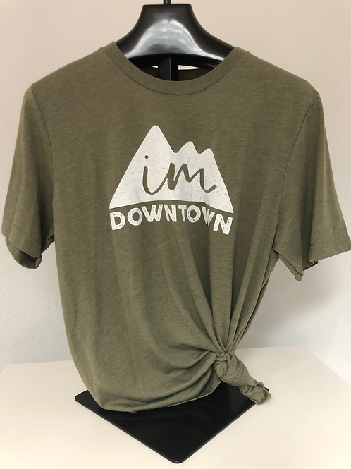 IM Downtown Short Sleeve Shirt (olive)