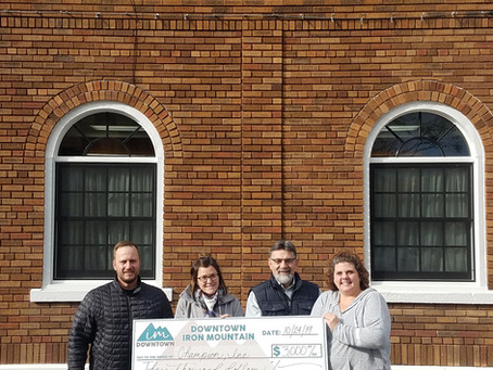 DDA AWARDS SECOND OF FOUR DOWNTOWN ASSISTANCE PROGRAM GRANTS
