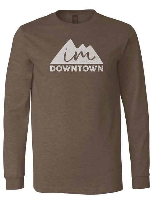 IM Downtown Long Sleeve Shirt (heather brown)