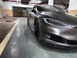 Tesla Model S Carbon Fiber Side Skirts