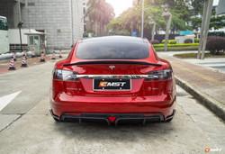 Tesla Model S Carbon Fiber Rear Spoiler