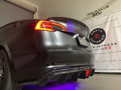 CMST Tesla Model 3 Carbon Fiber Rear Diffuser Ver.2