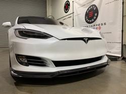 Tesla Model S Carbon Fiber Front Lip