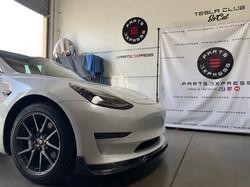 CMST Tesla Model 3 Carbon Fiber Front Lip Ver.2