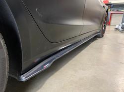 CMST Tesla Model 3 Carbon Fiber Side Skirts