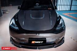 CMST Tuning Carbon Fiber Front Lip Ver.1 for Tesla Model Y